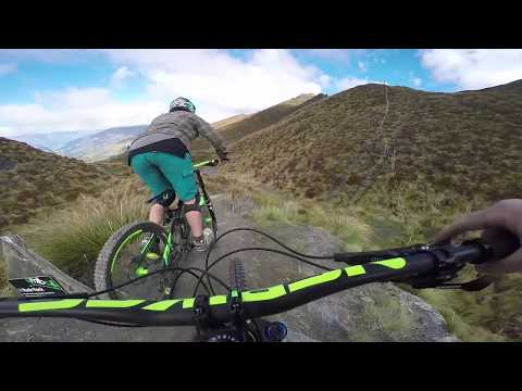 Queenstown MTB | The most scenic mountain bike trail in the world? Coronet Peak, New Zealand