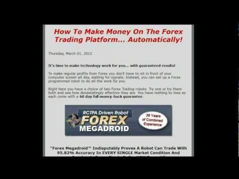 Forex Currency Trading Robot Software - Automated Forex Trading