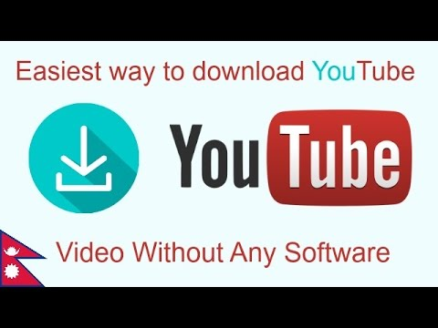 Easiest Way to Download YouTube videos Without Any Software