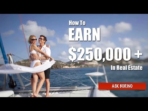 How To Earn $250,000 As A Real Estate Agent - The Success Formula