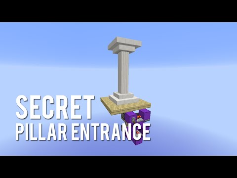 Redstone: Secret Pillar Entrance [Tutorial]