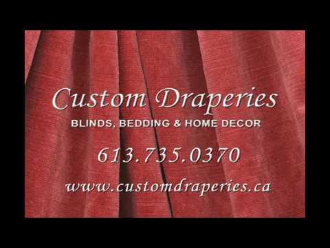 Custom Draperies - The Best Dressed Windows
