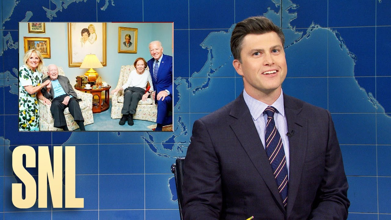 Weekend Update: The Bidens and Carters Take a Picture & the Most Instagrammable Bird - SNL