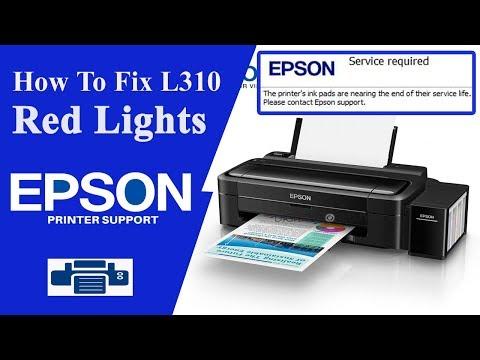 Resetter Epson L310, || Service Required ||  Error ||