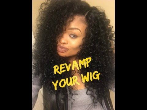 How to Revive/Refresh Your Curly Synthetic Wig | featuring Outre Dominican Curly Wig