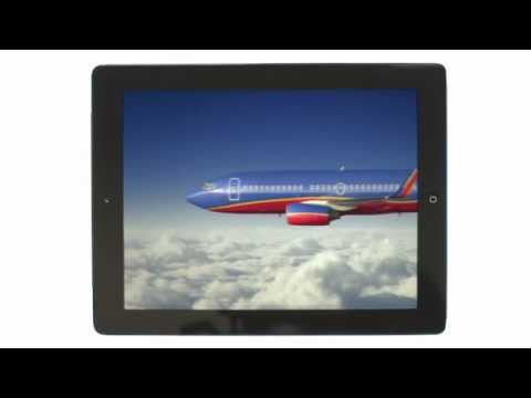Southwest Airlines New In-flight TV!!!!!