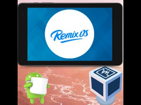 Rocketboy's RocketTech: Installing Remix OS on VM and Dell Venue 8 Pro (32-bit/UEFI)
