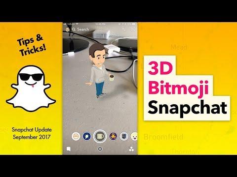 How to Use 3D Bitmoji on Snapchat