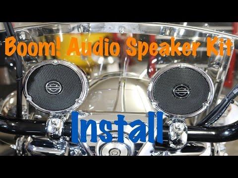 How to Install Harley Davidson Boom Audio Cruiser Amp & Speaker Kit | Complete Tutorial