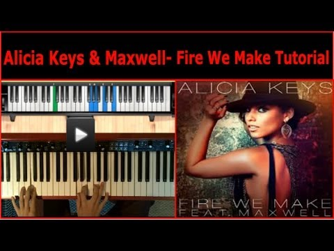Alicia Keys & Maxwell | Fire We Make | Piano Tutorial