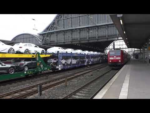 (HD) Germany - Trains at Bremen Hbf/Züge Am Bremen Hbf - 8/11/17