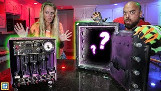Breaking Open Mystery Abandoned Safe and Mystery Box Clues Found!!