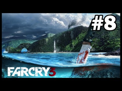 Mammals On An Island In Far Cry 3 - EP08 - First Shark Sightings!