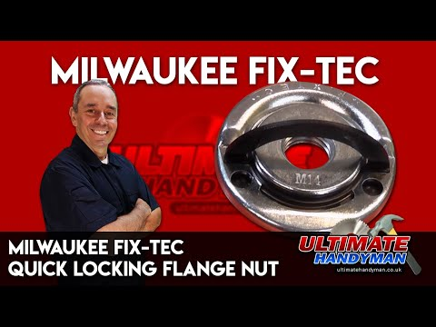 Milwaukee Fix-Tec | Quick locking flange nut