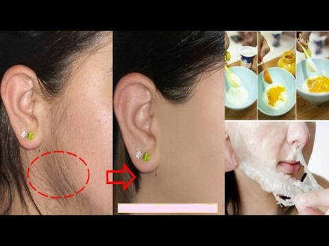 how to remove facial hair permanently || 5 miracle ingredients  simple DIY at home