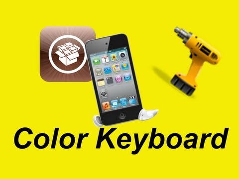 Color Keyboard (Customize your iPad/iPhone/iPod Touch's keyboard)