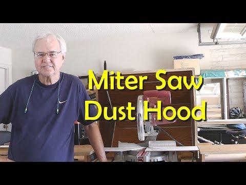 Making a Miter Saw Dust Hood