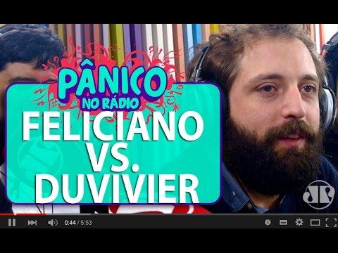 Pastor Marco Feliciano liga no Pânico e briga com Gregório Duvivier   Pânico