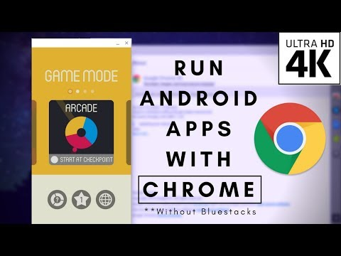 How to Run Android Apps (APK's) on Mac/Windows/Linux using Google Chrome