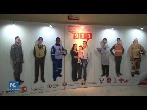 China-built ECU911 coordinates emergency response for quake relief in Ecuador