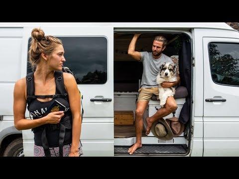 Why I'm Leaving Them | Van Life | Vantacruz_