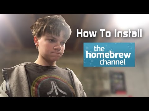 Installing The Homebrew Channel On Wii Using SD Card! - ROBusta