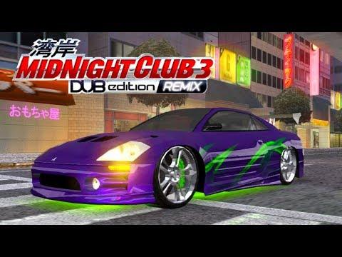 DEIXEI A ECLIPSE AO ESTILO VELOZES E FURIOSOS - Midnight Club 3 - DUB Edition Remix