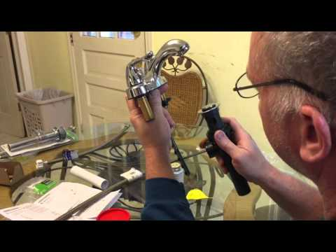 How to Replace a Bathroom Faucet and Drain