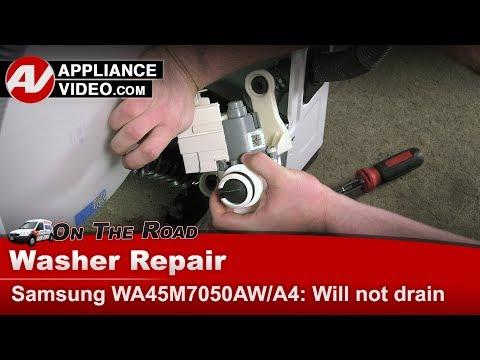 Samsung Washer Drain Pump issues - Diagnostic & Repair