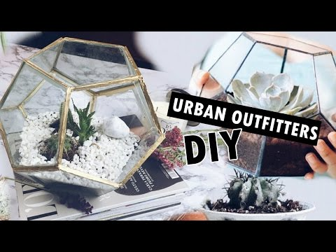 DIY GEOMETRIC TERRARIUM| URBAN OUTFITTERS