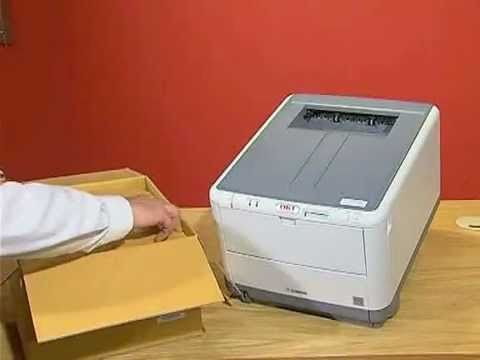 Replacing the Transfer Belt on an Oki C3000 Series Printer