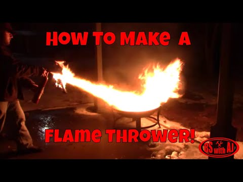 How To Make A Flamethrower Out Of A Fire Extinguisher