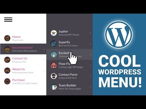 How To Create A Cool Menu For Your WordPress Site