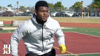 JuJu Smith-Schuster NFL Training: Running Routes