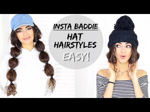 EASY Hairstyles with Hats & Beanies!