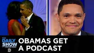 The Obamas' Spotify Podcast & Escaped Lions at Large in South Africa   The Daily Show