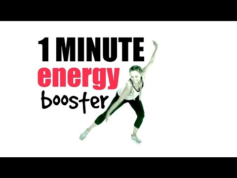 1 MINUTE WORKOUT TO INCREASE YOUR ENERGY LEVELS