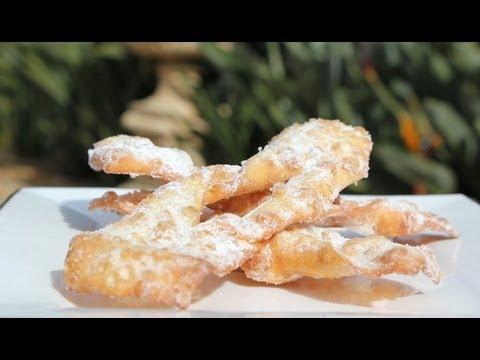 Italian Crostoli Pastry