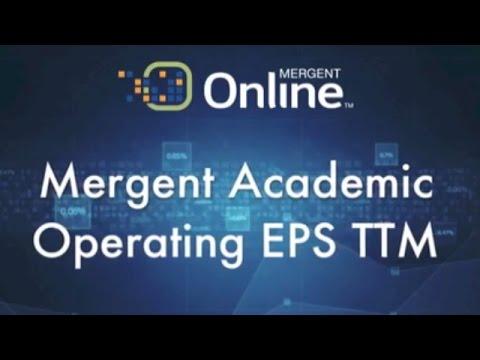 Revenue & EPS - Operating EPS TTM