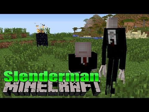 SLENDERMAN in Minecraft - Minecraft Mod