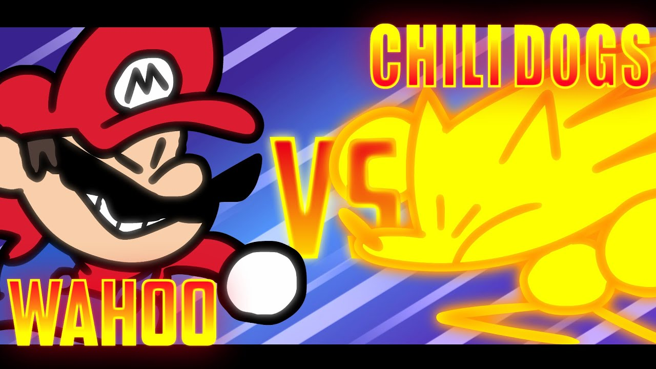 Speedrunner Mario VS Super Sonic (Fight scene from the 2.76M Sub Special) - SOMETHING VERSUS 🤼♂️