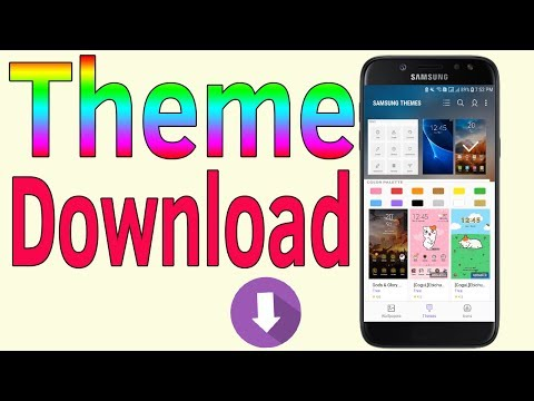 Samsung Galaxy J7/S7/S8/S9 : Samsung Themes Download [How To] - Helping Mind