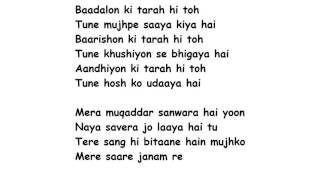 SANAM RE Full Song Lyrics Movie - SANAM RE   Arijit Singh, Mithoon