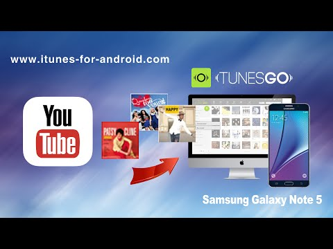 How to Free Download Music from YouTube to Samsung Galaxy Note 5 on Mac Yosemite El Capitan