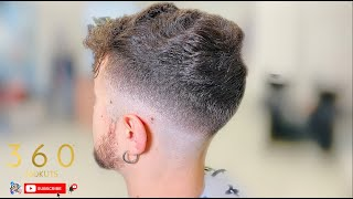 BARBER TUTORIAL | BEGINNER BARBERS - HOW TO DO A MID FADE STEP BY STEP | PER BARBIERI PRINCIPIANTI