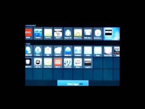 Install Mobile Apps on  Samsung Smart TV Sets