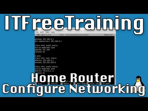 Home Router Configure Networking
