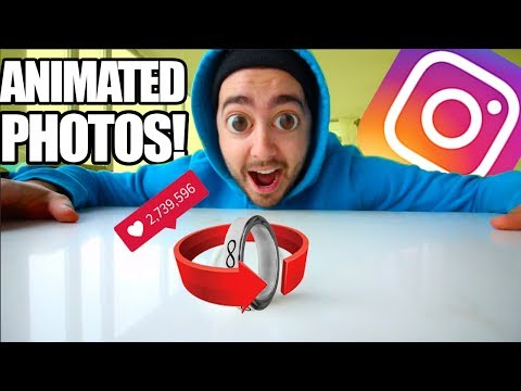 How To Make ANIMATED INSTAGRAM PHOTOS! | EASY |