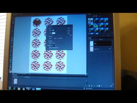 How to Make a Bottle Cap Collage in Photoshop Elements - Part 2