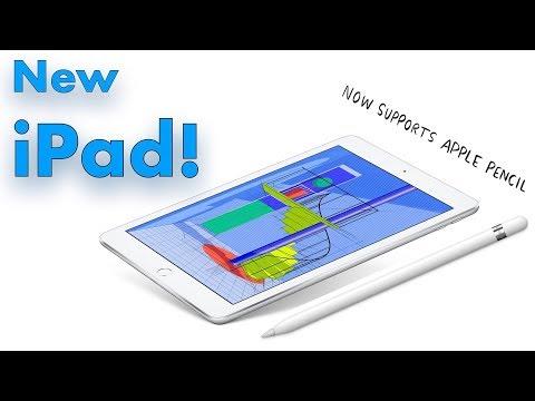 The New iPad 2018! (New 6th Generation 9.7 inch iPad!)